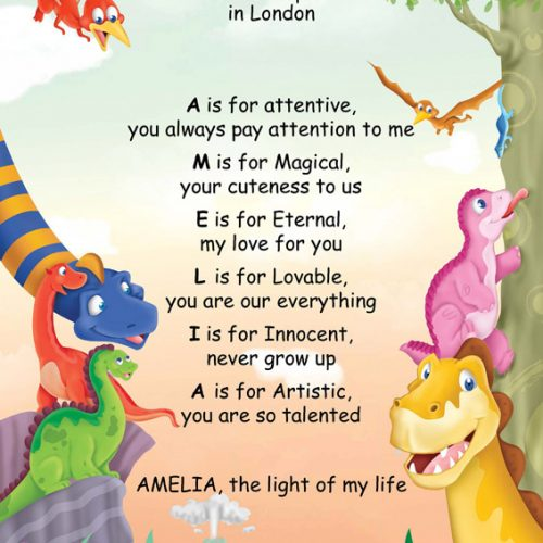 Poems & Letters - My Child Library